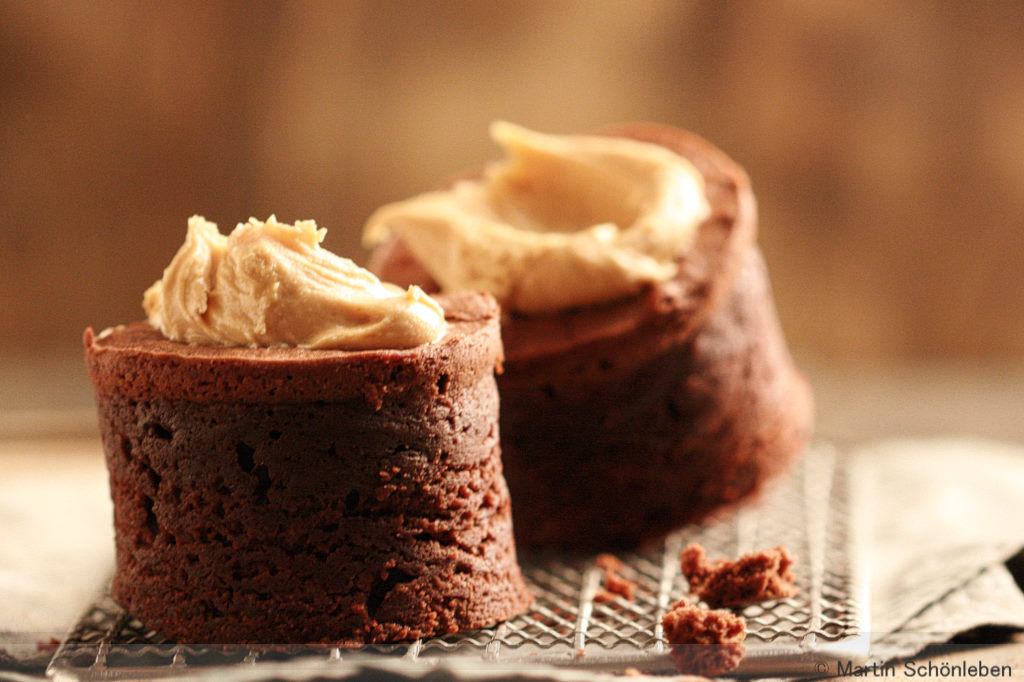 Brownies mit Erdnussbutter