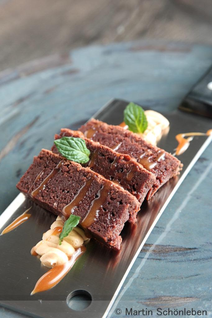 Brownies mit Karamel