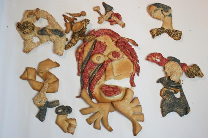 David Bowie als Brot