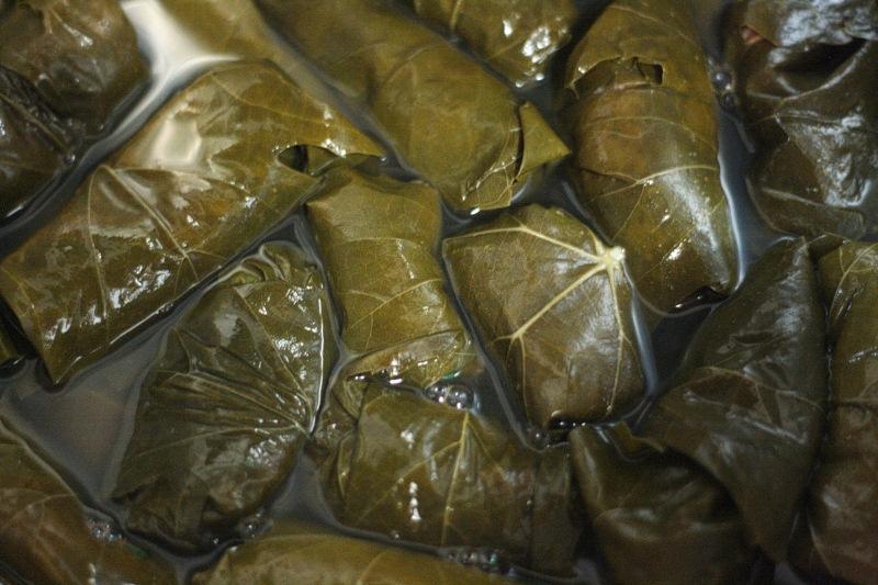 gefüllte Weinblätter aus Armenien