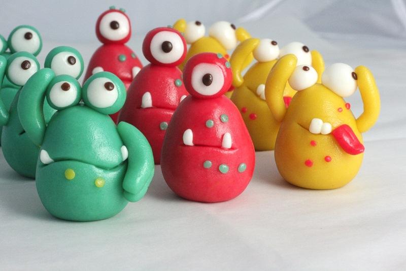 Eier aus Marzipan