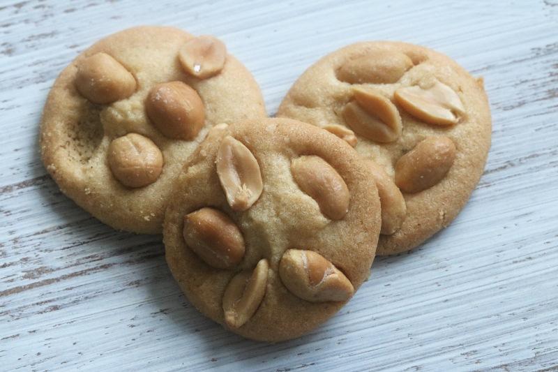 Italienische süß-salzige Erdnussplätzchen