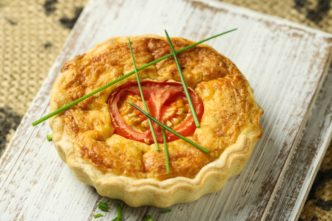 Tomaten-Käse-Quiche