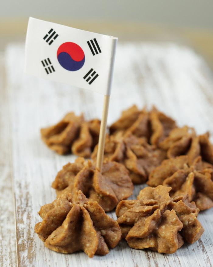 Koreanische Plätzchen