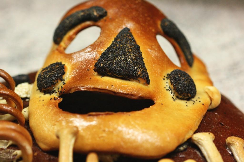 Faschingsmaske gebacken