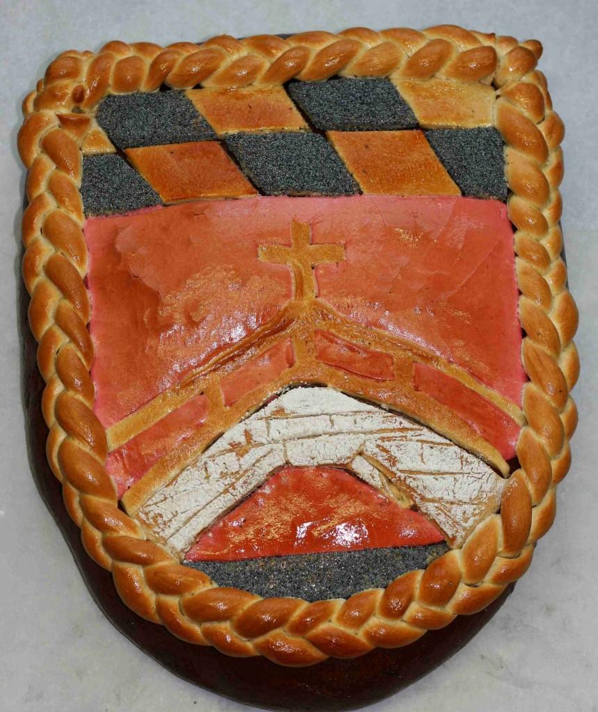 Brucker Wappen aus Brotteig