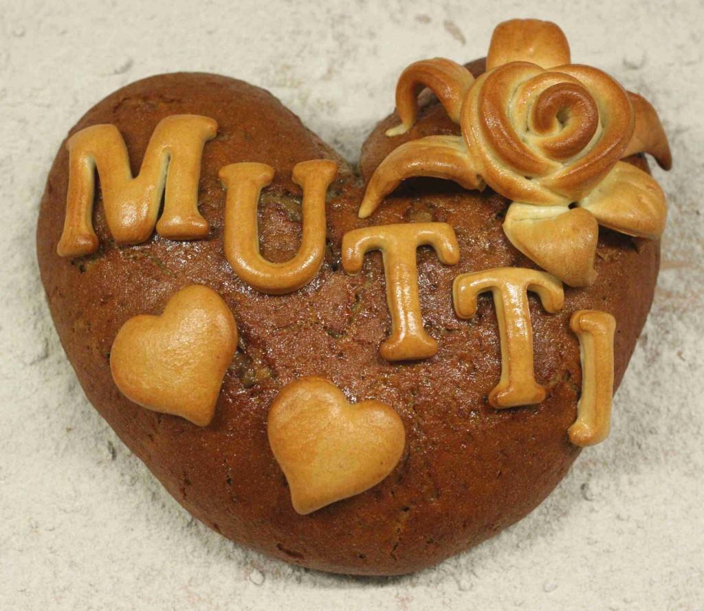 Brot zum Muttertag