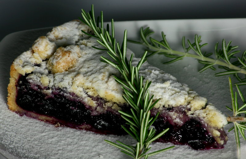 Blaubeerstreuselkuchen