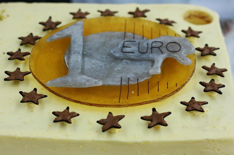 Euro aus Zucker