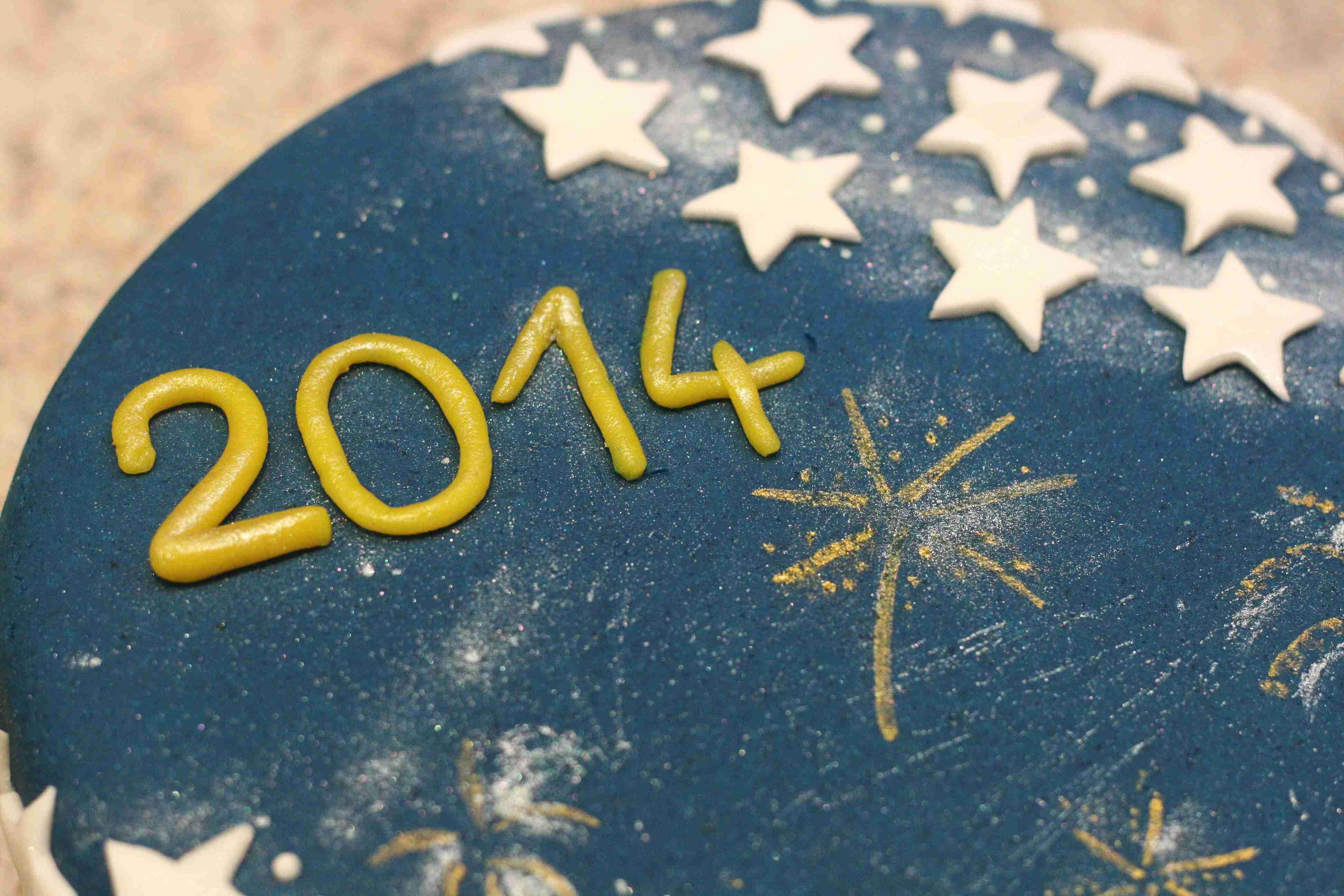 Neujahrstorte 2014