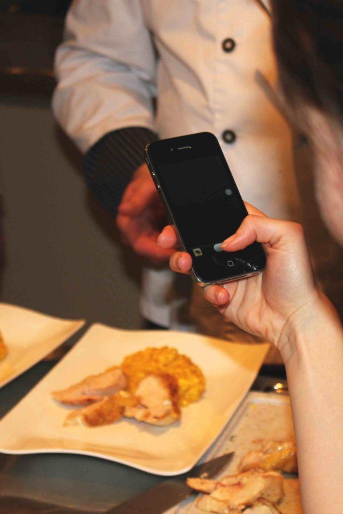 Handycam im Einsatz