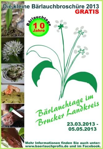 Titelblatt Bärlauchbroschüre